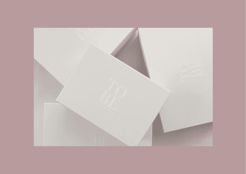 Small White Gift Box (23 x 16 x 11cm)