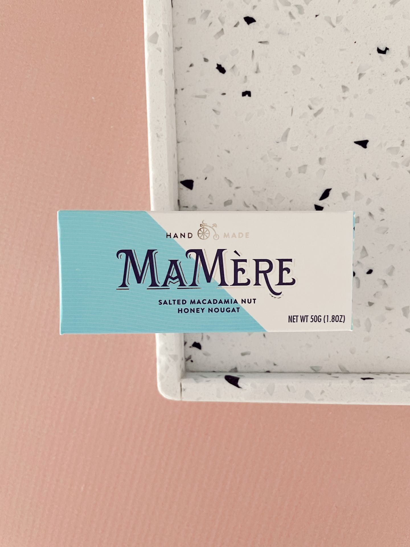 MaMere Confections - Salted Macadamia Nut Nougat 50g