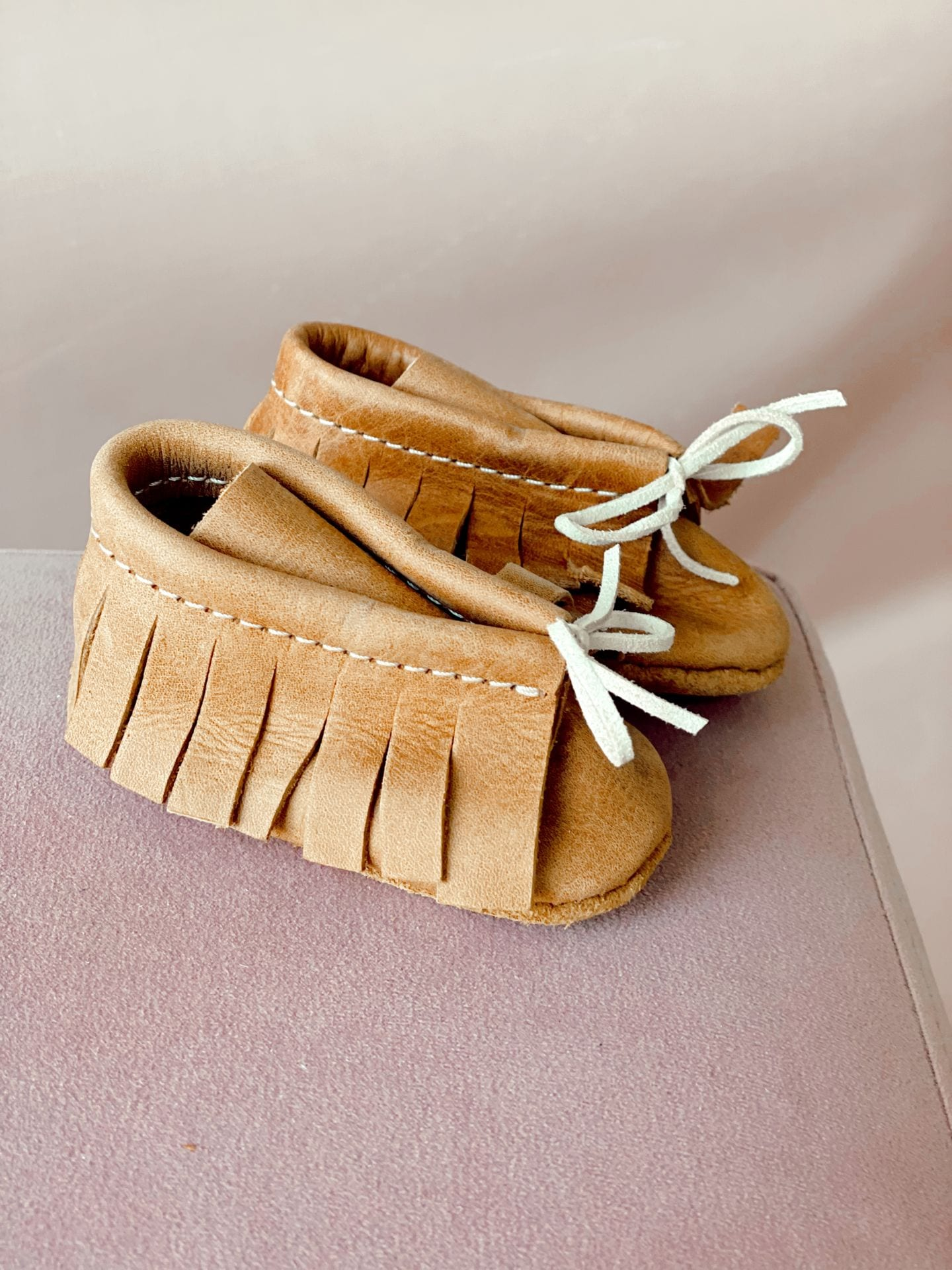 Baby Girl Genuine Leather Vellies