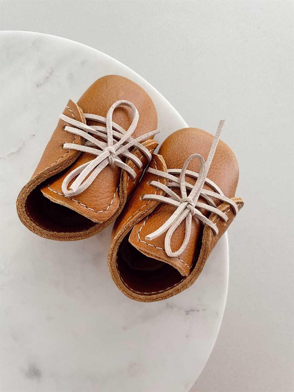 Baby Unisex Vellies Tan