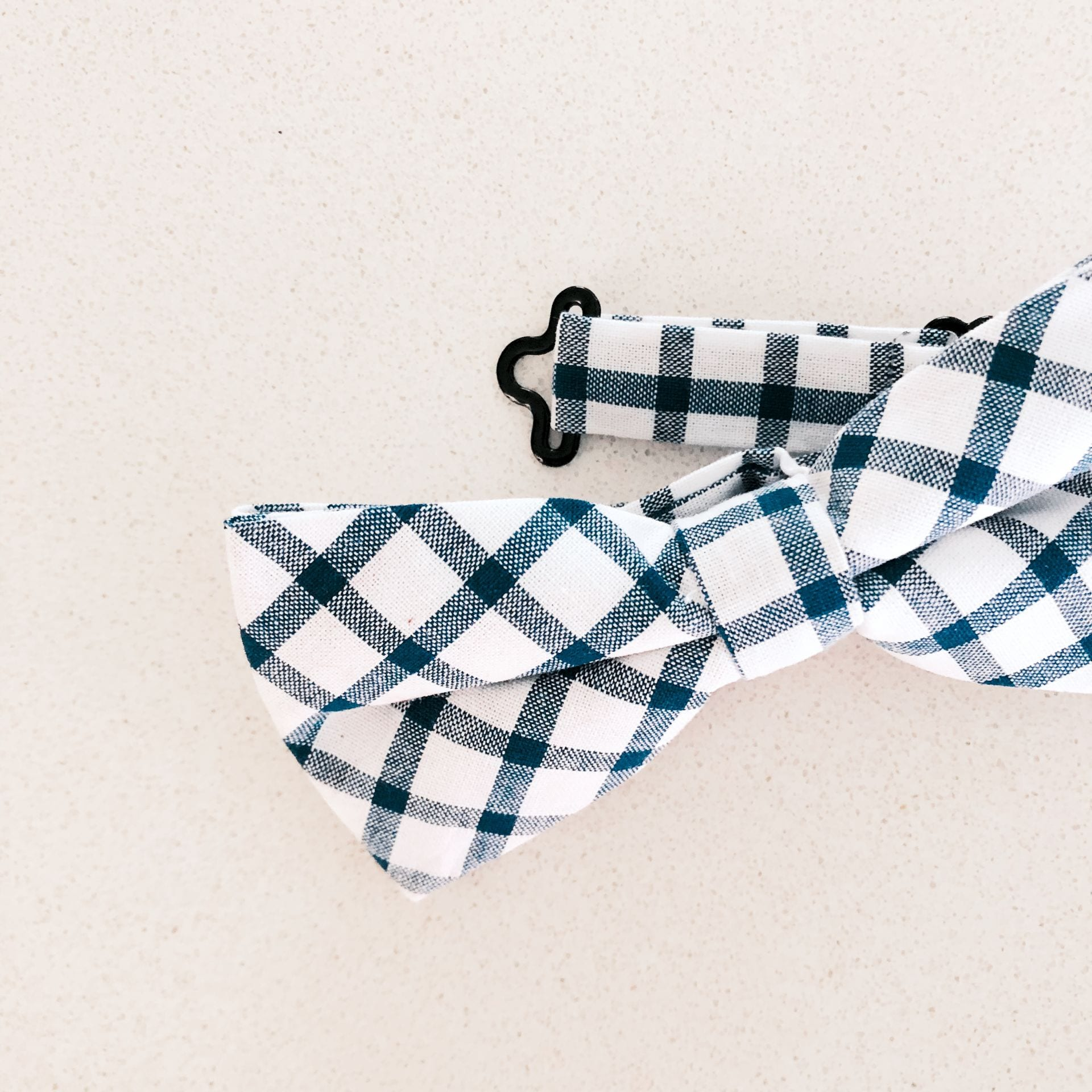 Bow Tie  - Blue and White