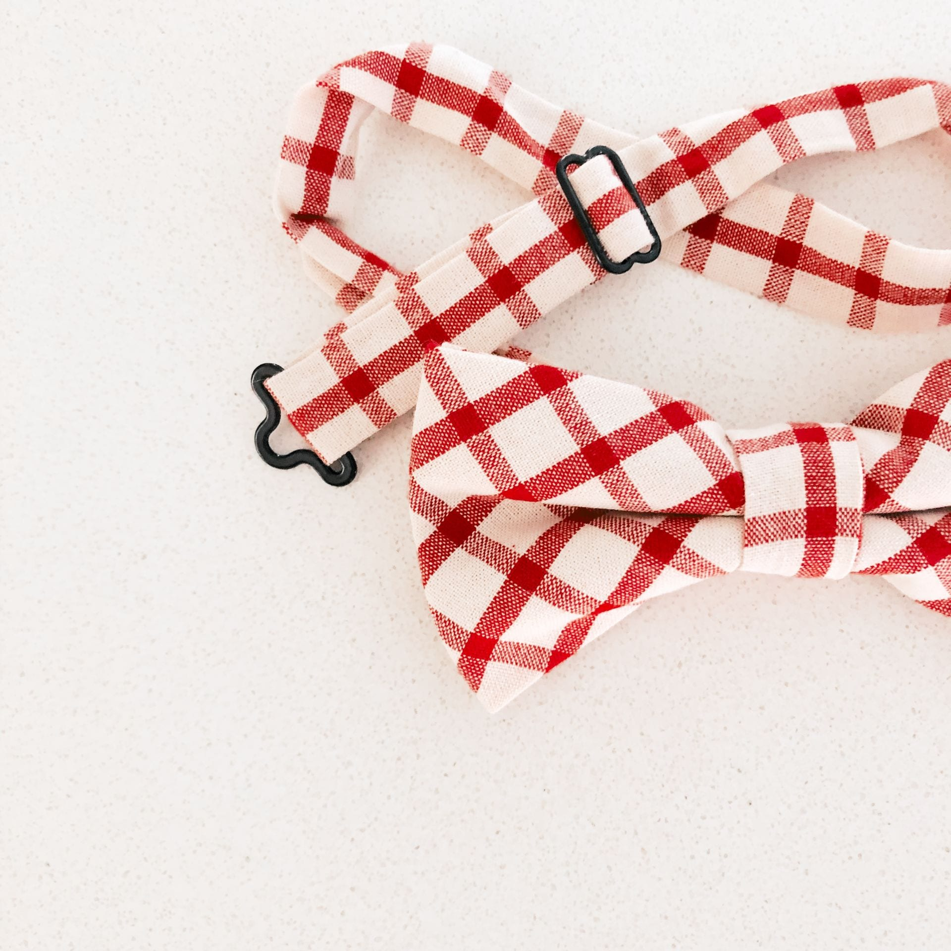 Bow Tie  - Red and White